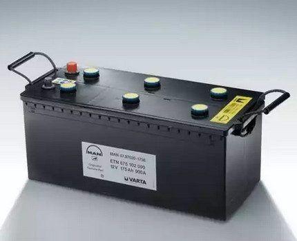Аккумулятор для резервной системы электрообеспечения