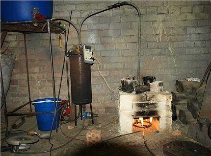 Подогрев субстрата в биореакторе
