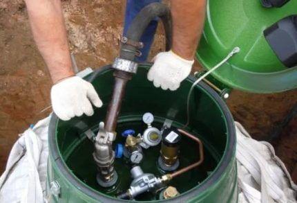 Настройка газовой системы