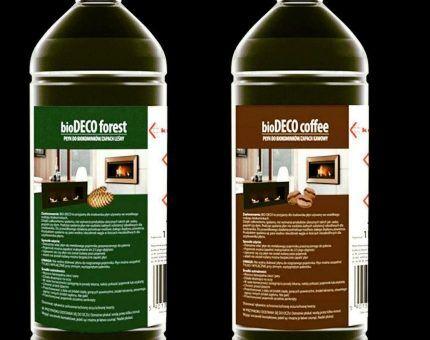 Жидкое ароматизированное биотопливо
