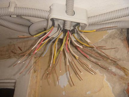 Цена на монтаж электропроводки в 2-х комнатной квартире