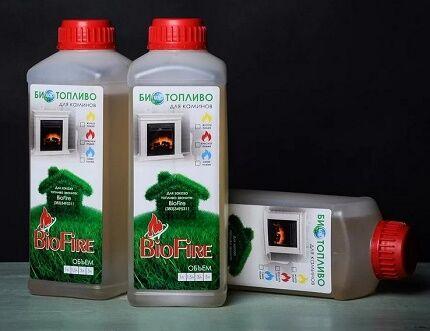 Горючее для биокамина