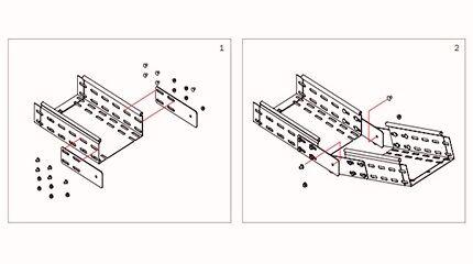 Пластины для шарнирного соединения