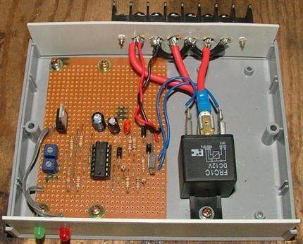 Схема контроллера своими руками 156