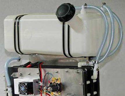 Корпус водородной установки