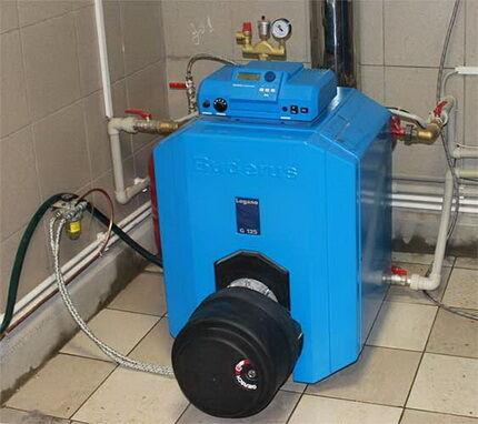 Газовый котел напольного типа