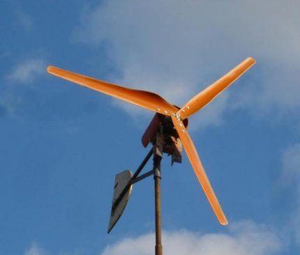 Ветрогенератор горизонтальный