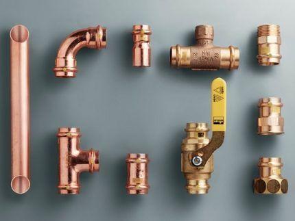 Фитинги для газовых труб