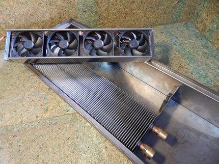 Конвектор, оснащенный вентиляторами