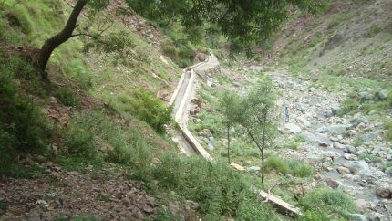 Устройство отводного канала