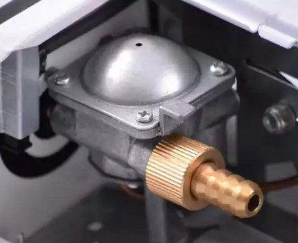 Переходник для газовой плиты