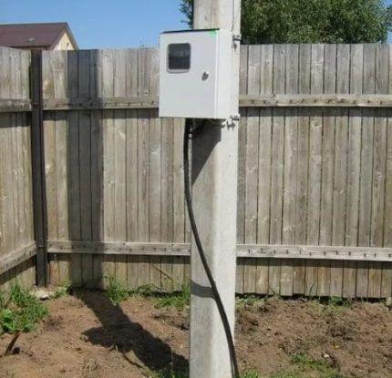 Опора для электрокабеля