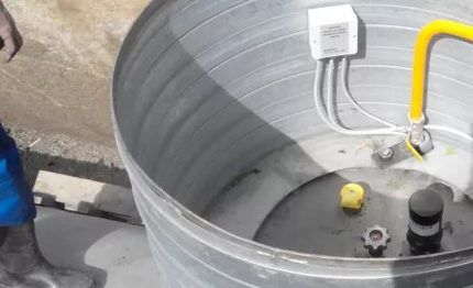 Протекторная электрохимическая защита