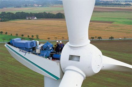 Расчёт мощности ветряка