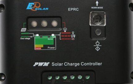 Бюджетный контроллер для солнечной системы