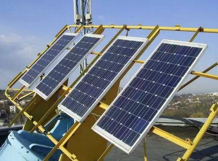 Система солнечных батарей