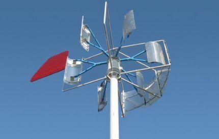 Вертикальный ветрогенератор