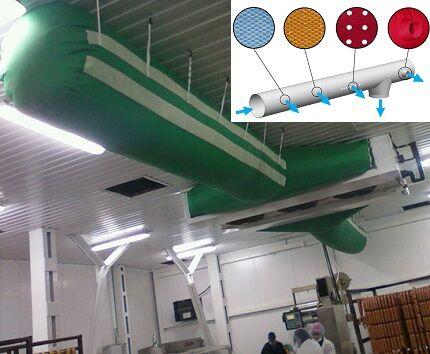 Текстильный воздуховод