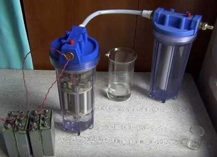 Ячейки водородного генератора