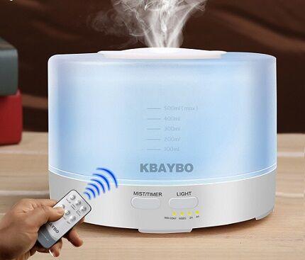 Humidifier control