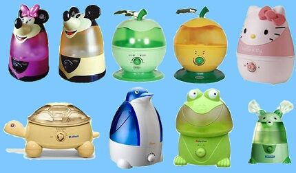 Humidifier for the nursery
