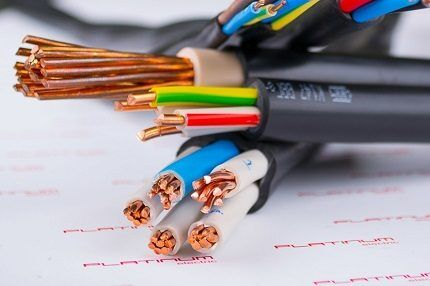 Types of cable VVGng