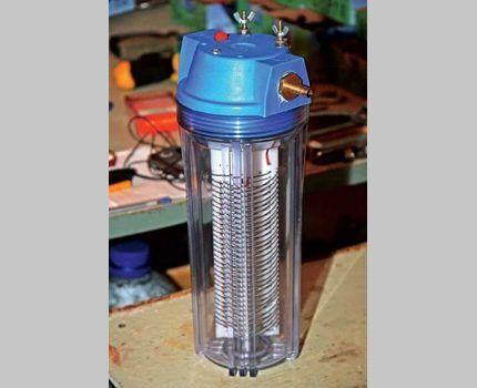 Ячейка водородного генератора