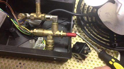 Ремонт газового обогревателя