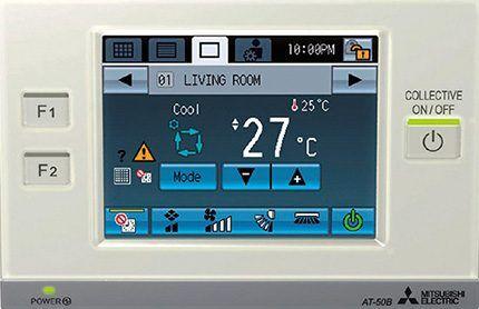 Электронный блок управления системы вентиляции