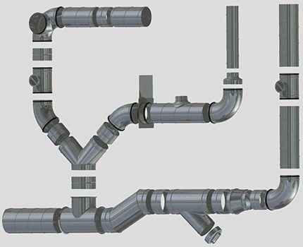 Фасонные элементы воздуховодов