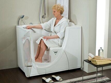 Удобство сидячей ванны