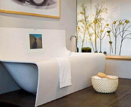 Дорогостоящая модель ванны