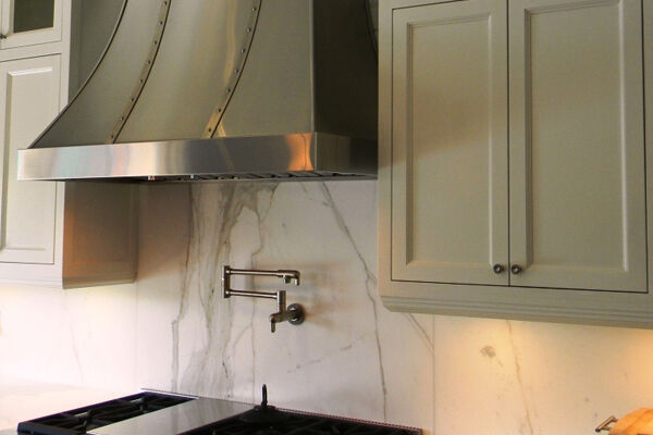 Подключение вытяжки на кухне к вентиляции 97