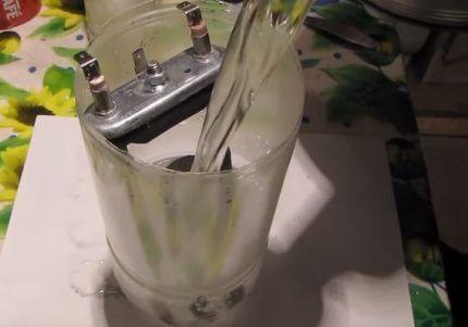 Чистка ТЭНа лимонной кислотой
