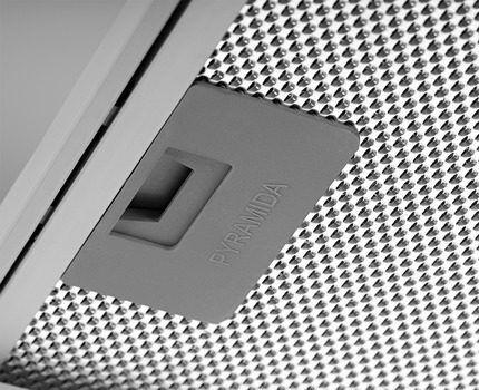Алюминиевый фильтр с фиксатором