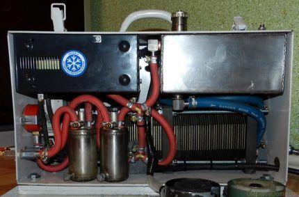 Отопительная установка на водороде
