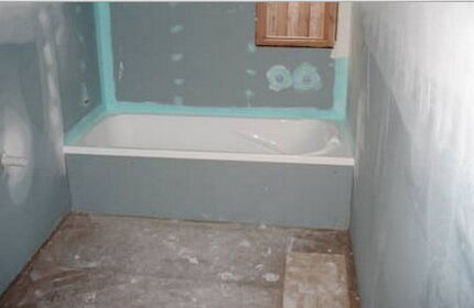 Waterproofing for the bathroom