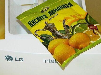 Преимущества использования в чистке лимонной кислоты