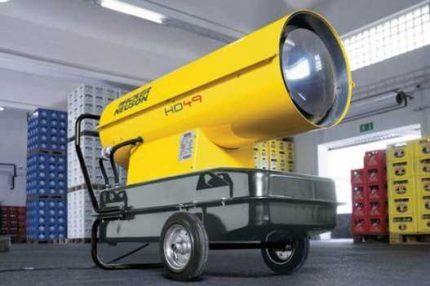 Меры безопасности при пользовании дизельными отопителями