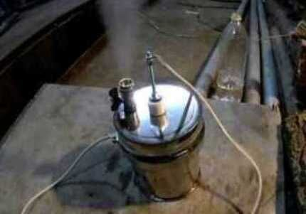 Homemade steam generator