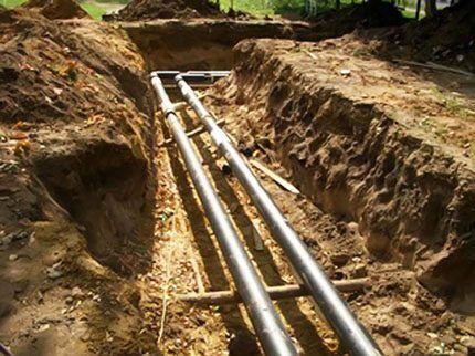 Проблемы подземного газопровода