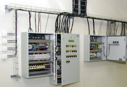 Электротехнические настенные шкафы