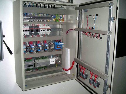 Шкаф управления вентиляцией предприятия