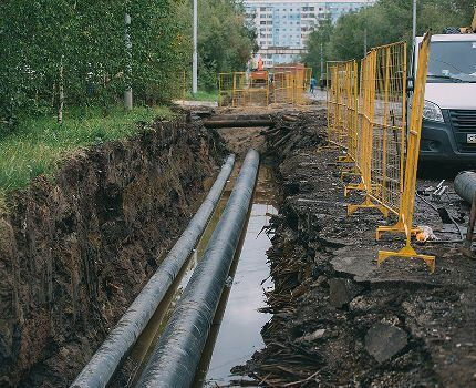 Замена труб газовой сети