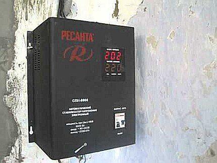 Установка СН в помещении с минусовой температурой
