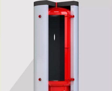 Пустотелый теплоаккумулятор