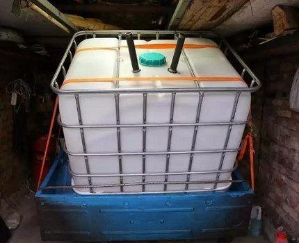 Еврокуб в багажнике