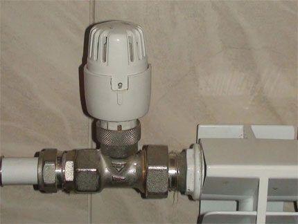 Терморегулятор на подаче