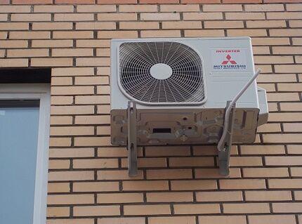 Вентфасад установка внешнего блока