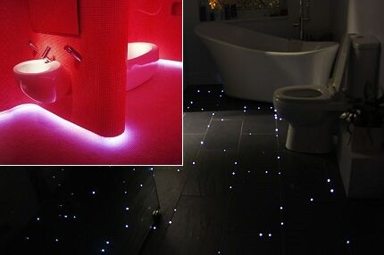LED floor lighting